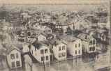 Section of Flooded District many Miles during the Great Flood at Dayton, Ohio, March 1913