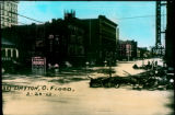 West Fifth Street, 1913 Flood